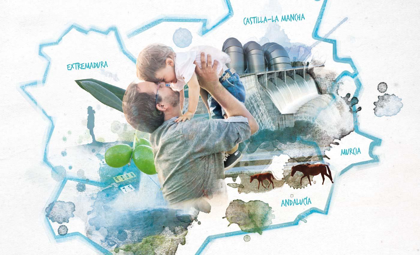 Grafica Publicitaria CHG Día del Agua 2015