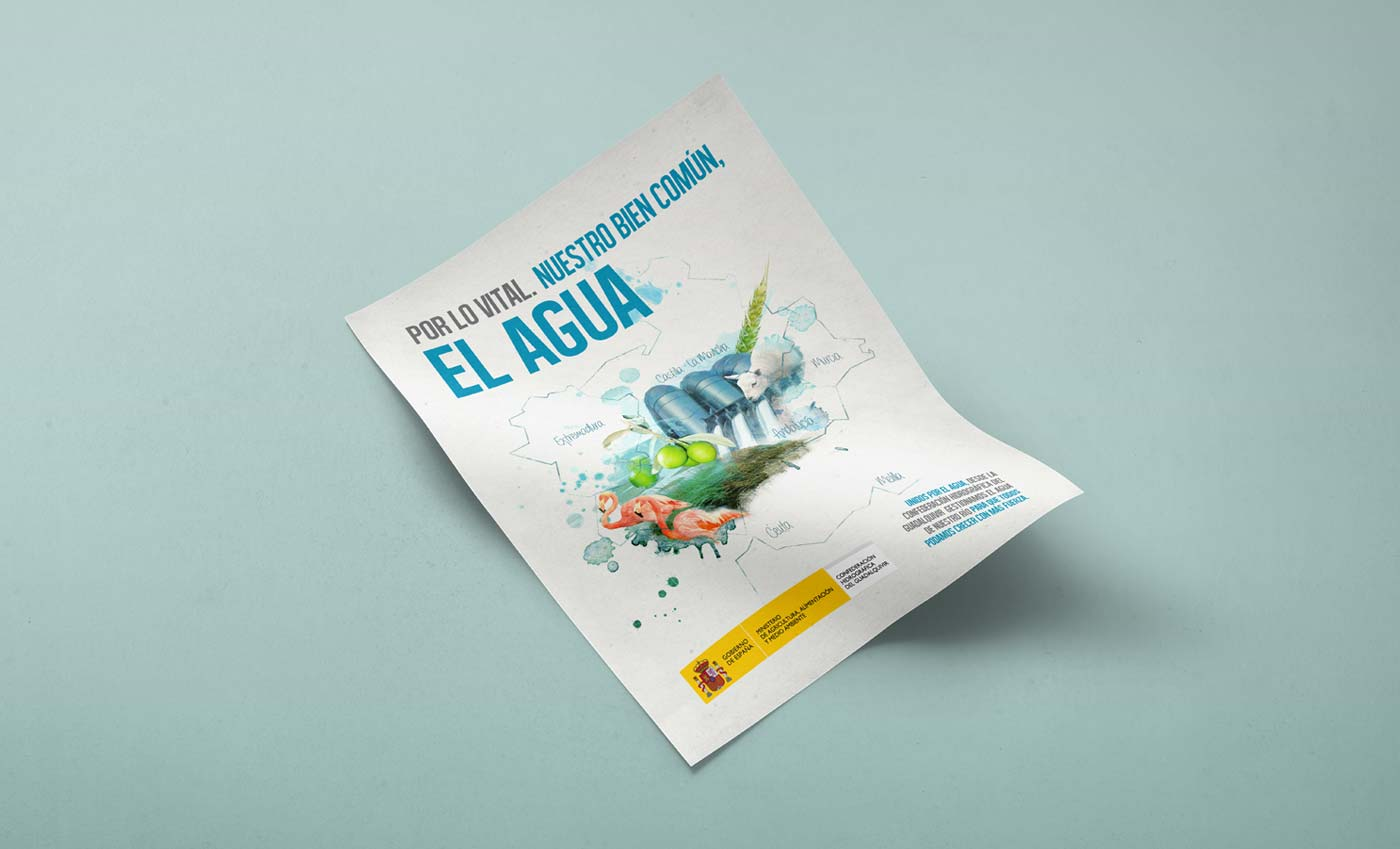 Grafica Publicitaria CHG Día del Agua 2013